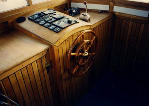 oak wheelhouse
